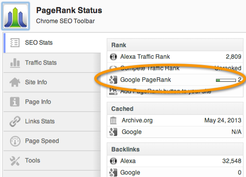 page-rank-tool